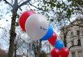 Митинг в защиту российской Конституции у здания посольства РФ в Лондон
