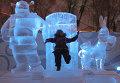 """Открытие фестиваля ледовых скульптур """"Империя льда"""""""