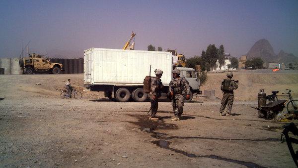 В городе Кандагаре. Афганистан