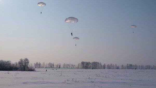 Массовое десантирование в Ульяновской области