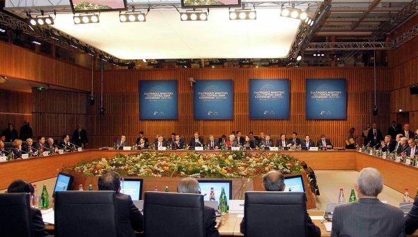 Встреча глав Минфинов и ЦБ стран G20 в Париже