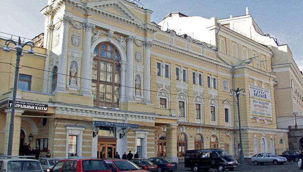 Здание Российского академического молодежного театра. Архивное фото