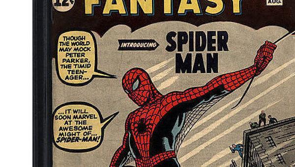 Комикс, в котором дебютировал Человек-паук, продан в США за $1,1 млн