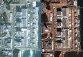 """Спутниковая съемка последствий землетрясения на АЭС """"Фукусима-2"""""""