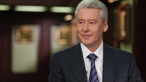 Мэр Москвы Сергей Собянин дал интервью телепрограмме Вести недели