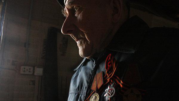 Ветеран Великой Отечественной войны Николай Фролов из Ивановской области