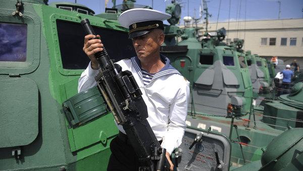 Служба на Каспийской флотилии ВМФ России