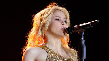 Певица Шакира. Архивное фото