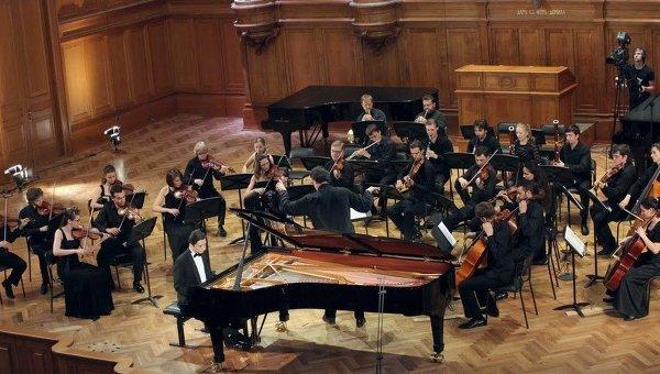 Конкурс среди пианистов XIV Международного конкурса имени Чайковского. Архивное фото