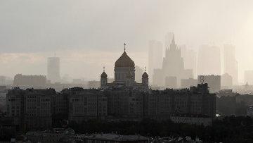 Виды Москвы, архивное фото