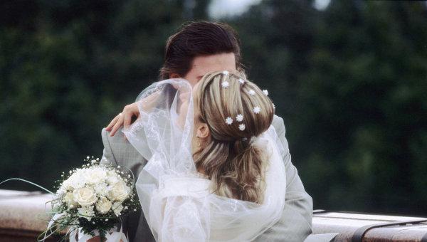 Фото свадьбы в красном тоне 97