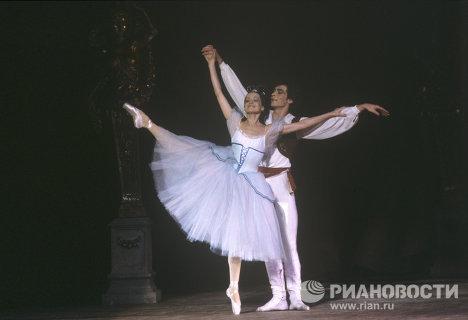 Артисты Ирина Колпакова и Сергей Бережной