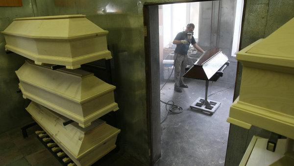уже почему гробы в крематрии узкие состав