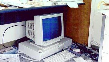 Компьютер, на котором был впервые запущен сервис ArXiv.org в 1991 году