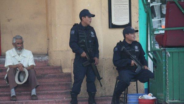 Мексиканская полиция. Архивное фото.