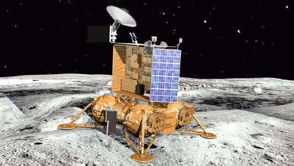 Посадочный модуль зонда Луна-Глоб. Архивное фото