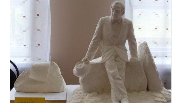 Памятник Зиновию Гердту - макет