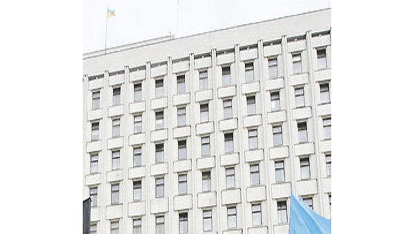 Центральная избирательная комиссия в Киеве. Архивное фото