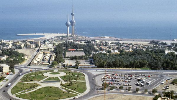 Вид на город Эль-Кувейт сверху. Архивное фото