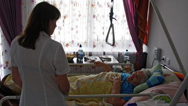 Работа хосписа фонда Справедливая помощь в Киеве