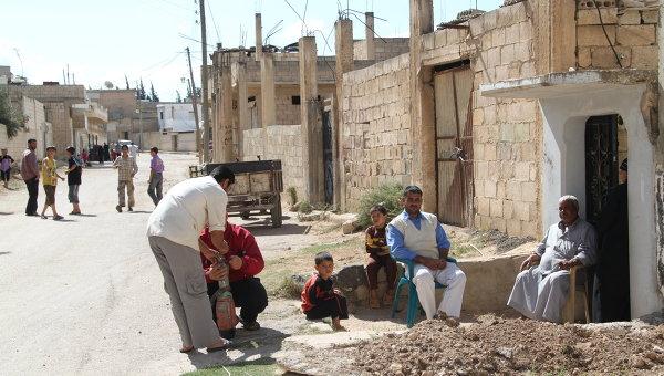 Сирийский город Растан