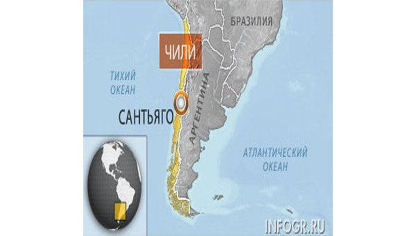 Подозреваемый в контрабанде кокаина россиянин переведен в тюрьму в Чили