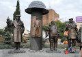 Памятник знаменитой советской комедии «Мимино»