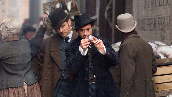 Кадры из фильма Гая Ричи Шерлок Холмс