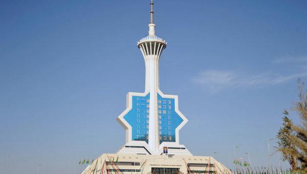 Новая телебашня введена в эксплуатацию в Ашхабаде