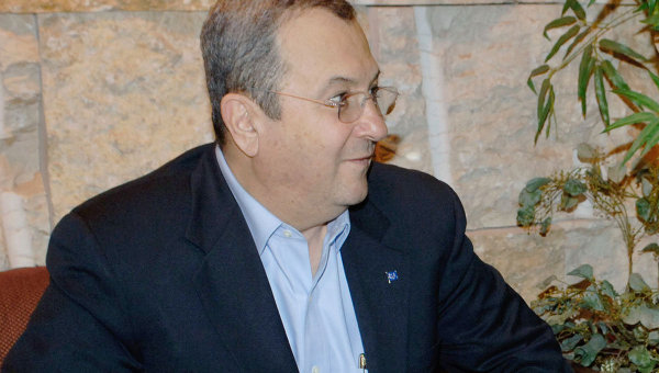 Министр обороны Израиля Эхуд Барак. Архив