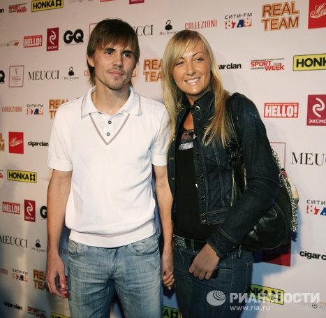 Дмитрий Торбинский с женой