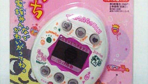 Первый Тамагочи, выпущенный в 1996 году