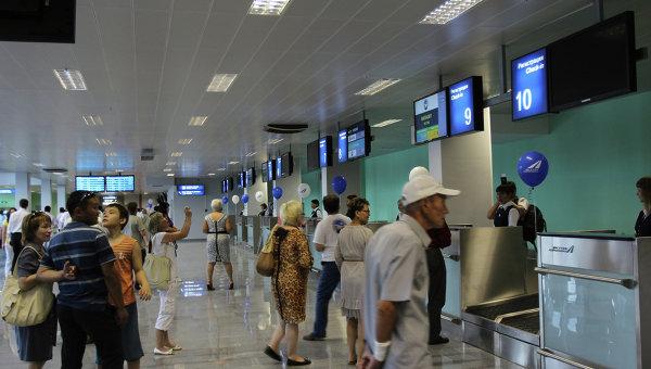 Пассажирский терминал аэропорта Якутска. Архивное фото