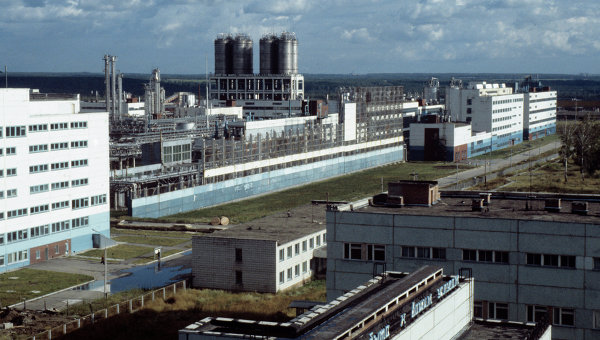 Томский нефтехимический комбинат. Архивное фото