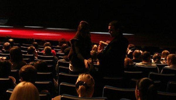 В зрительном зале кинотеатра. Архивное фото