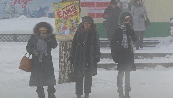 Морозы до -43 ожидаются в Томской области на выходных