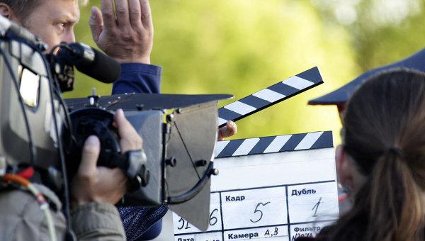 Съемки фильма. Архивное фото