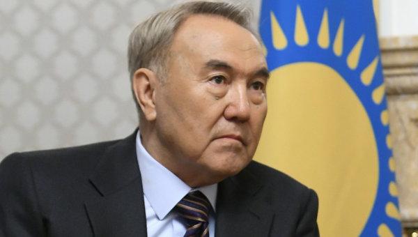 Президент Республики Казахстан Нурсултан Назарбаев. Архив.