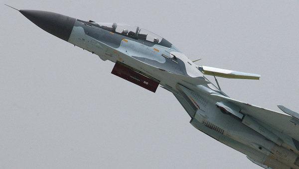 Истребитель Су-30. Архив