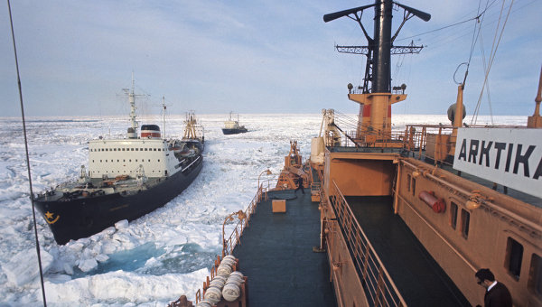 Атомный ледокол Арктика. Архив