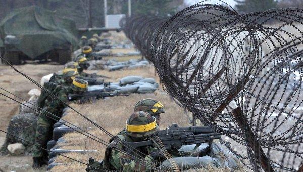 Завершилось разминирование участка границы Северной и Южной Кореи