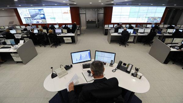 Центр управления аэропортом Шереметьево. Архив