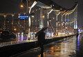 Аномально теплый декабрь в Москве
