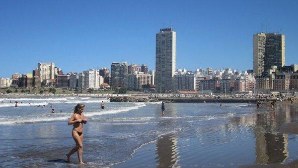 Город Мар-дель-Плата в Аргентине. Архивное фото