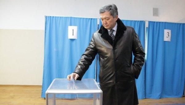 Парламентские выборы в Казахстане. Архивное фото