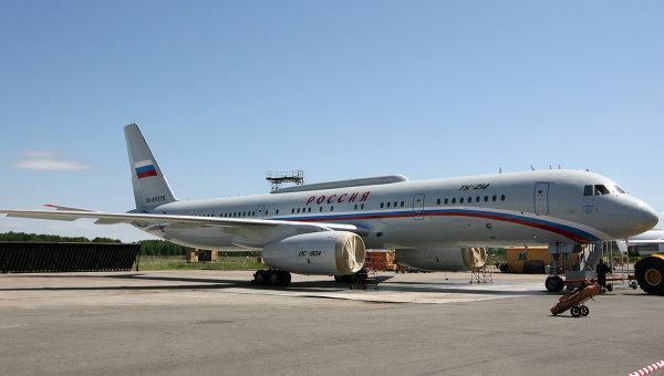 Передача самолетов Ту-214 спецназначения для Управления делами президента РФ
