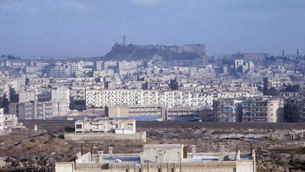 Алеппо, или Халеб - крупный промышленный и культурный центр Сирии. Архивное фото