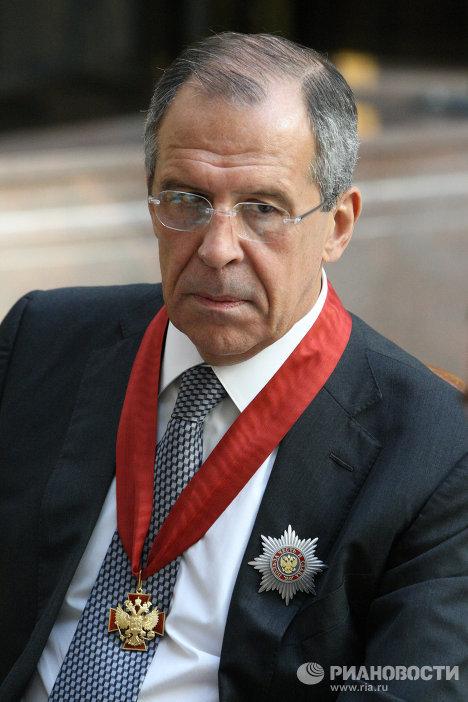 Президент РФ Д.Медведев вручил госнаграды российским дипломатам