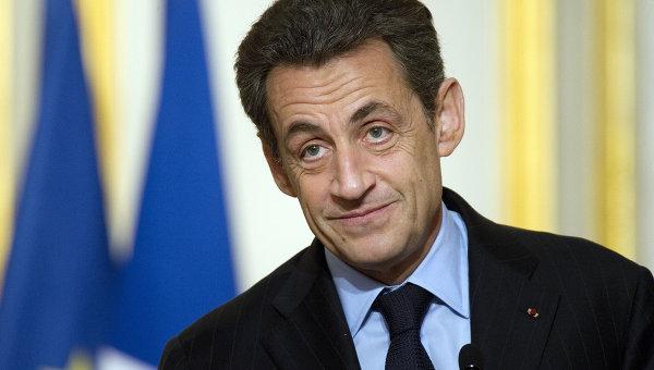 Саркози член партии