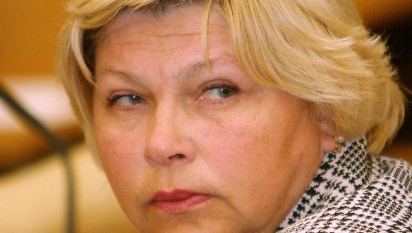 Депутат Государственной Думы Елена Драпеко. Архивное фото
